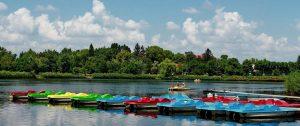 Waterfiets huren Camping Biesbosch Marina